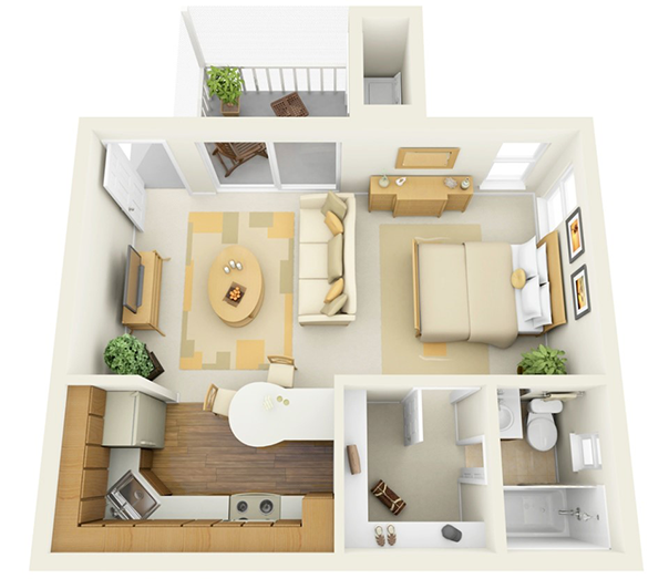Buying a Studio Apartment for an Investment - Sound Property